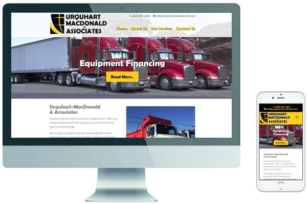 Responsive Website Design - Urquhart MacDonald & Associates