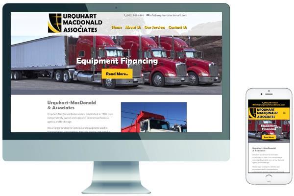 Responsive Website Design - Urquhart MacDonald & Associates