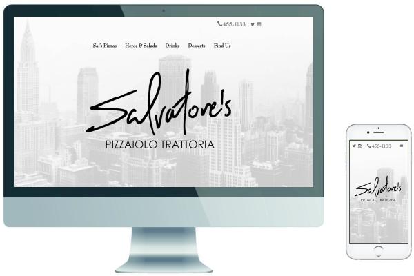 Responsive Website Design - Salvatore's Pizzaiolo Trattoria